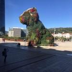 Puppy van Jeff Koons voor het Guggenheim